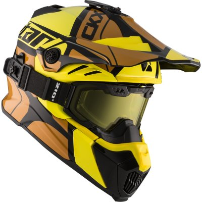 Шлем CKX TITAN HOPOVER AIR FLOW YELLOW
