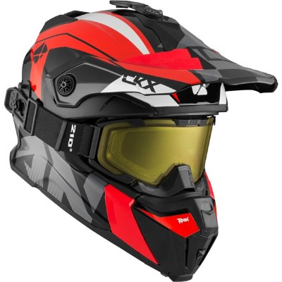 Шлем CKX TITAN ORIGINAL ALTITUDE Red/Wh