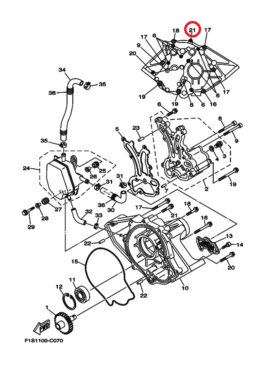 Yamaha Sx230 Jet Engine Diagram